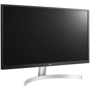 "LG 27UL500-W 3840x2160 27"" IPS Monitor with Radeon Freesync, White(Certified Refurbished)"