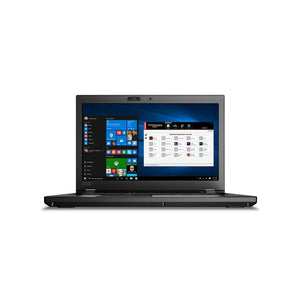 "Lenovo ThinkPad P52 Workstation 15.6"" Touch 16GB 512GB X6 2.6GHz, Black (Certified Refurbished)"