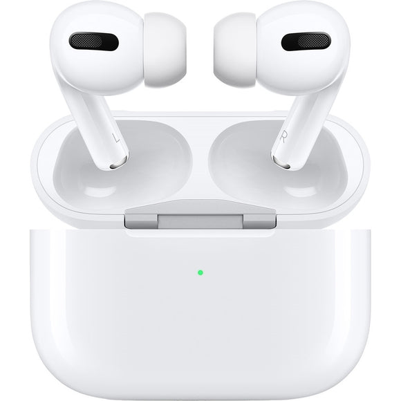 Apple AirPods Pro with Wireless Charging Case, White