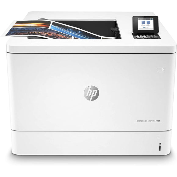 HP LaserJet Enterprise M751N Color Laser Printer, White
