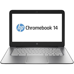 "HP Chromebook J2L40UT#ABA Intel Celeron 2957U X2 1.4GHz 2GB 16GB SSD 14"", Black (Refurbished)"