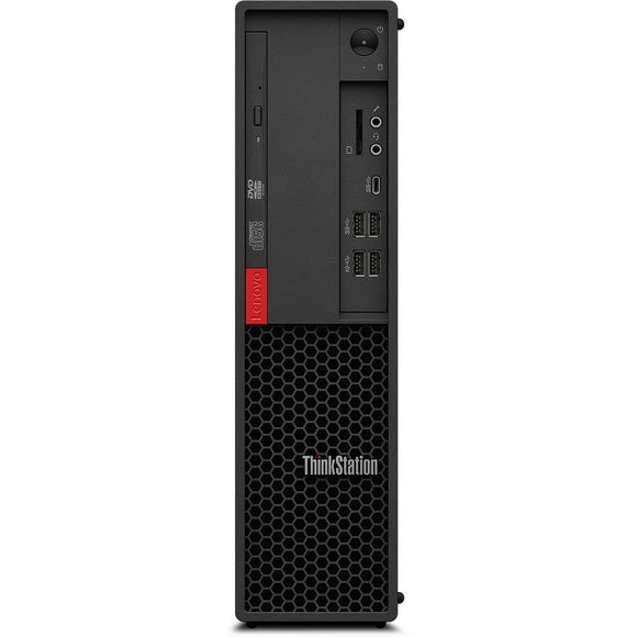 Lenovo ThinkStation P330 Gen 2 SFF 16GB 1TB SSD Intel Core i9-9900, Black (Certified Refurbished)