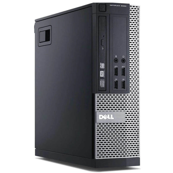 Dell Optiplex 9020 SFF 8GB 256GB SSD Intel Core i5-4570 X4 3.2GHz, Black (Certified Refurbished)
