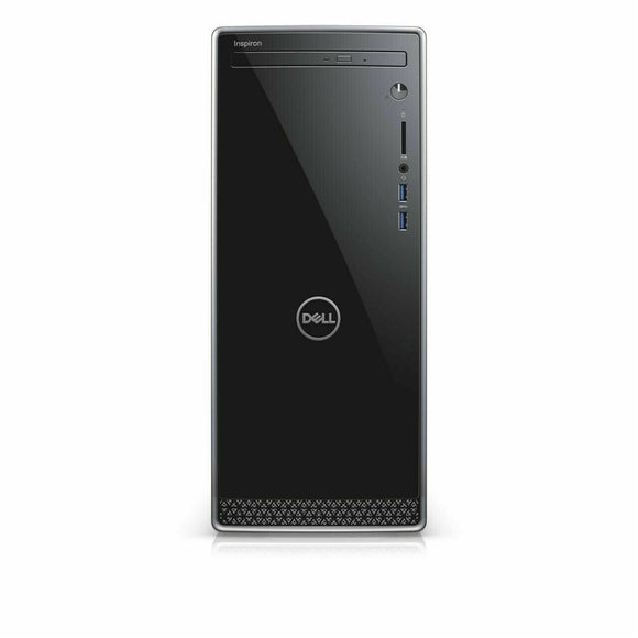 Dell Inspiron 3671 Desktop 12GB 256GB SSD Intel Core i5-9400 Win10, Black (Certified Refurbished)