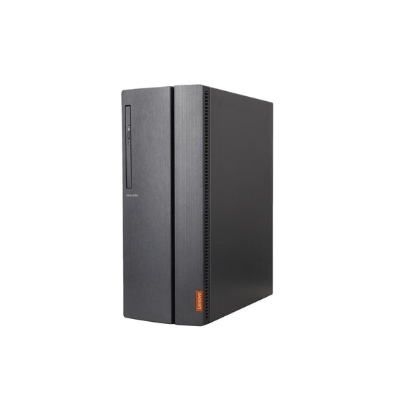Lenovo IdeaCentre 510A-15ARR Tower 8GB 256GB SSD AMD Ryzen 5 3400G, Gray (Certified Refurbished)