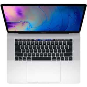 "Apple MacBook Pro 15 5V932LL/A 15.4"" 16GB 512GB Intel Core i9-9880H, Silver (Certified Refurbished)"