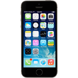"Apple iPhone 5s 16GB 4"" 4G LTE T-Mobile, Space Gray (Certified Refurbished)"