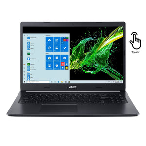 "Acer Aspire A515-55T-59AD 15.6"" Touch 8GB 256GB Intel Core i5-1035G1 X4 1.0GHz, Charcoal Black"