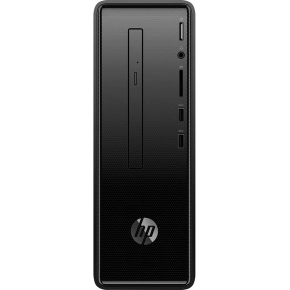 HP Slimline 290-a0029 8GB 2TB AMD A9-9425 X2 3.1GHz Win10, Black (Certified Refurbished)