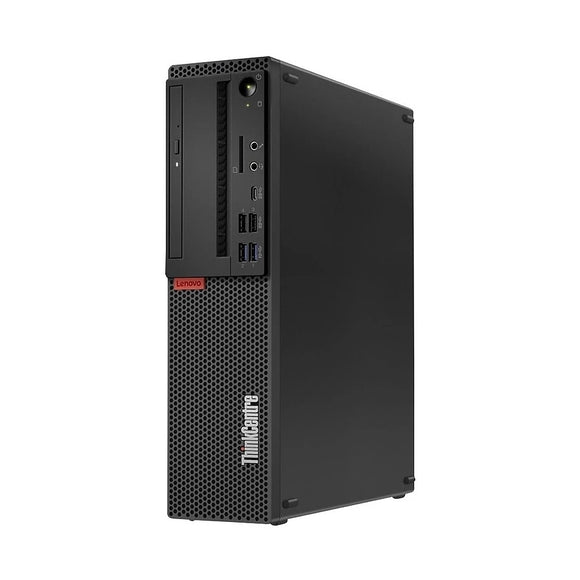 Lenovo ThinkCentre M720s SFF 8GB 512GB SSD intel core i5-8400 X6 2.8GHz Win10, Black