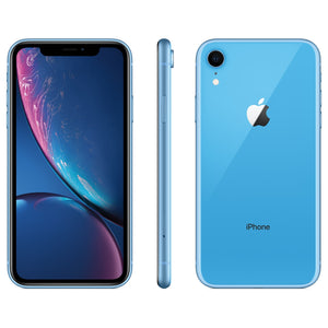 "Apple iPhone XR 64GB 6.1"" 4G LTE Unlocked, Blue (Refurbished)"