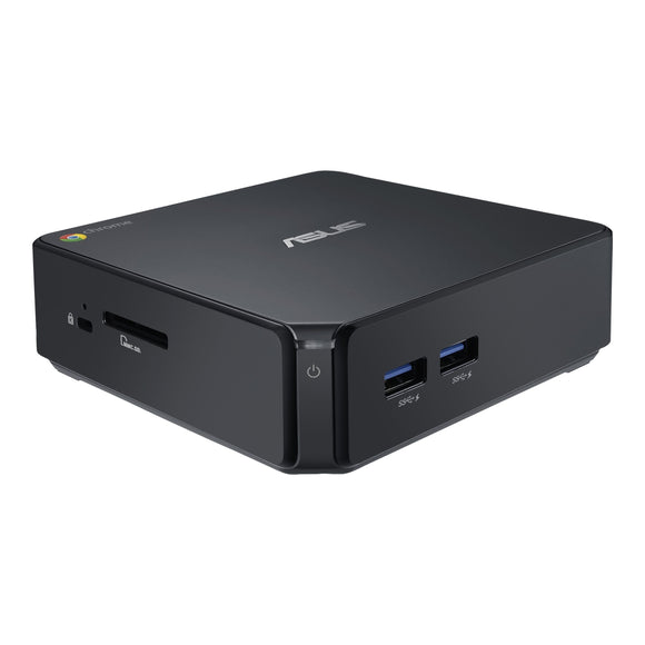 Asus Chromebox CN60 2GB 16GB SSD Intel Core i3-4010U X2 1.7GHz Chrome OS, Black (Refurbished)
