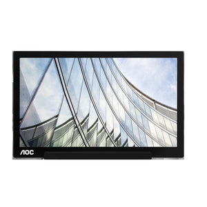 "AOC I1601FWUX USB-C 1920x1080 15.6"" IPS LED Monitor, Black (Certified Refurbished)"
