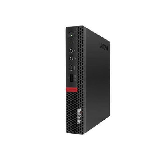 Lenovo ThinkCentre M720Q Tiny 8GB 256GB SSD Intel Core i5-8500T Win10, Black (Certified Refurbished)