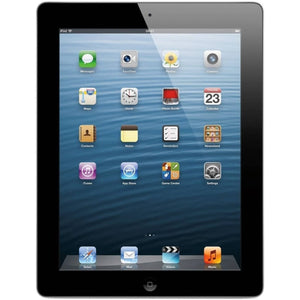 "Apple iPad 4th Gen MD511LL/A 9.7"" 32GB WiFi, Black/Silver (Refurbished)"
