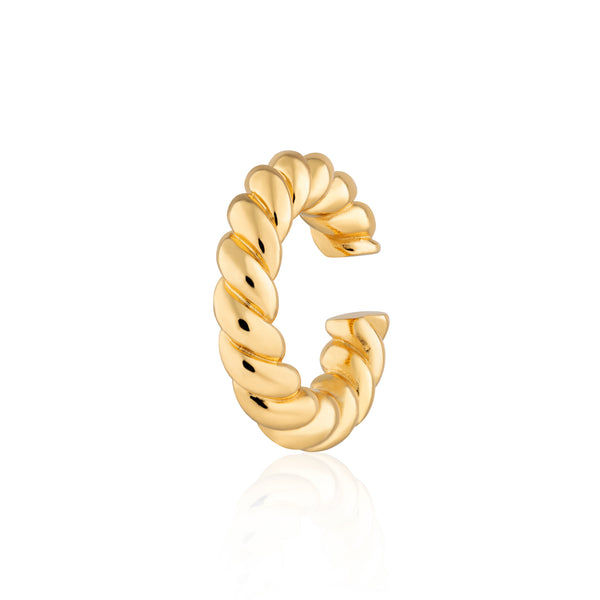 Chunky Twist Ear Cuff