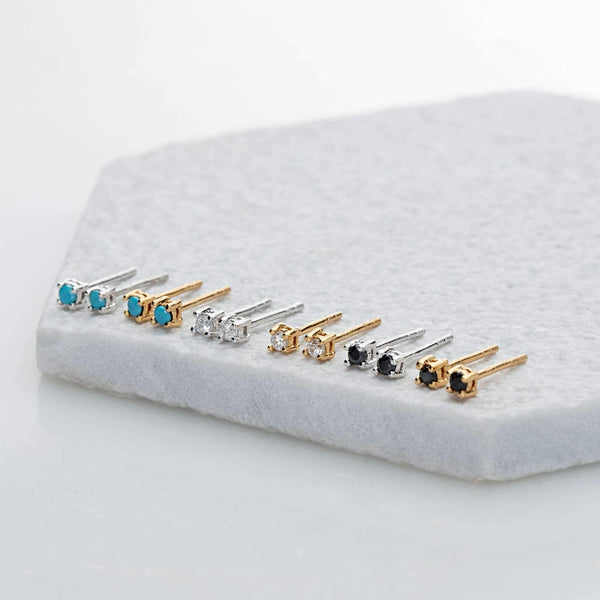 Teeny Tiny Stud Earrings - Scream Pretty