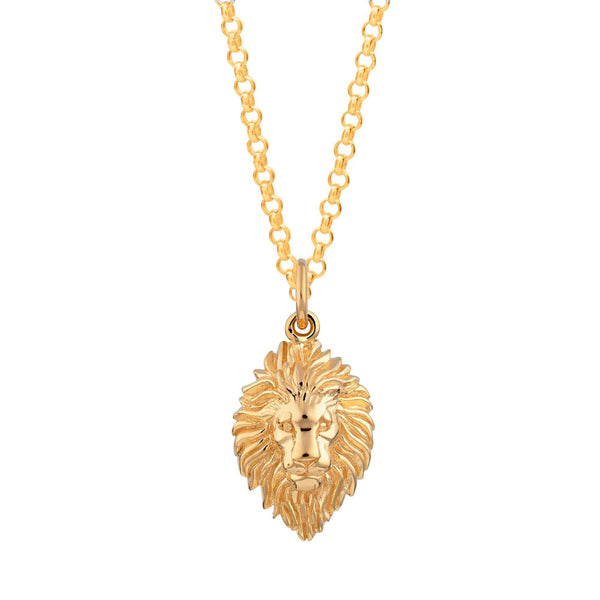 Lion Head Necklace - Scream Pretty