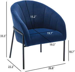 Blue Contemporary Chair