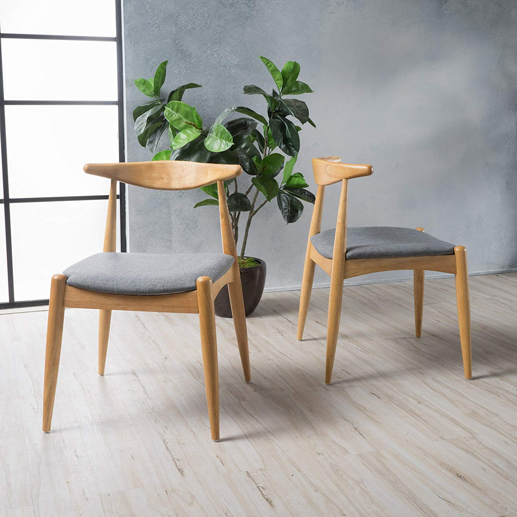 Francie Grey Chair Set of Two