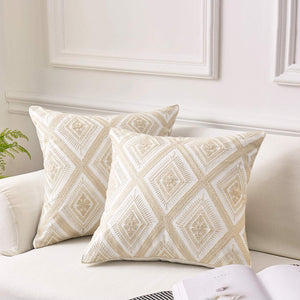 Moma Embroidered Pillow Set