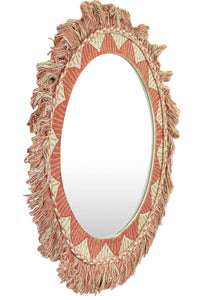 Cotton Orange Mirror