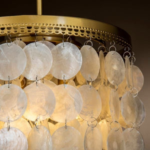Sea Shell Pendant Light