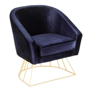 Blue Orchid Chair