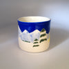 Handcrafted Wagner Skis (Winter Camping) Mug #2