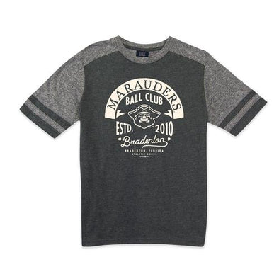 Bradenton Marauders Ball Club Striped Sleeve Tee