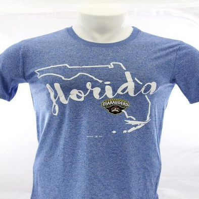Bradenton Marauders Florida Performance Tee - Blue