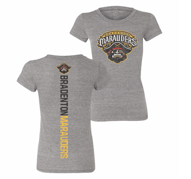 Bradenton Marauders Ladies Razorback Tee