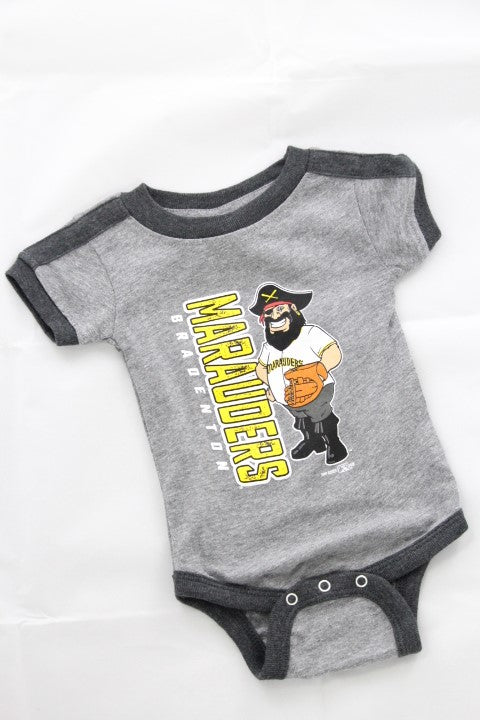 Bradenton Marauders Infant Ringer Onesie