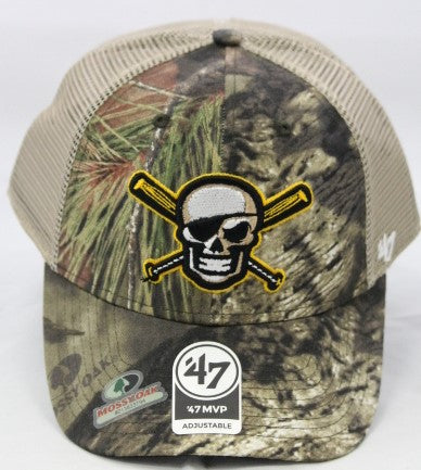 Bradenton Marauders Mossy Oak Camo Trucker Hat