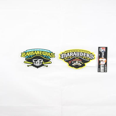 Bradenton Marauders and Barbanegras Logo Stickers