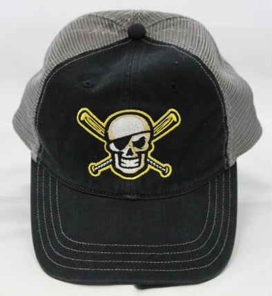 Bradenton Marauders Skull Trucker Hat