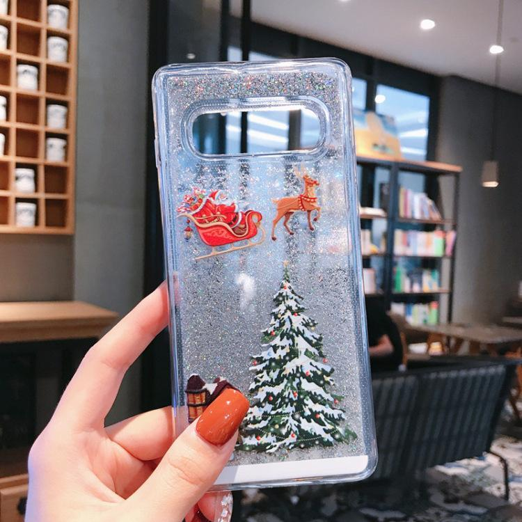 Flash powder mobile phone case——Samsung