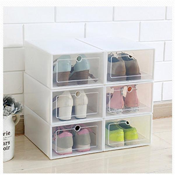 Clear Shoe Box