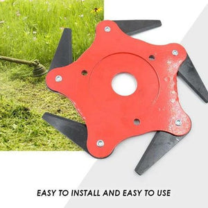 Universal 6 Blades TrimmerHead for Lawn Mower