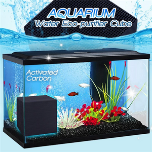 AQUARIUM WATER ECO-PURIFIER CUBE