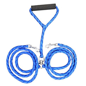 Durable Double Dog Leash