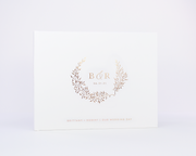 Real Foil Wedding Guest Book #182 by Starboard Press