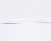 Real Foil Wedding Guest Book #183 by Starboard Press