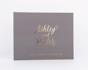 Real Foil Wedding Guest Book #184 by Starboard Press