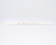 Real Foil Wedding Guest Book #188 by Starboard Press