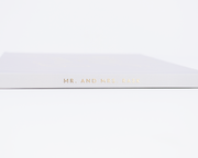Real Foil Wedding Guest Book #189 by Starboard Press