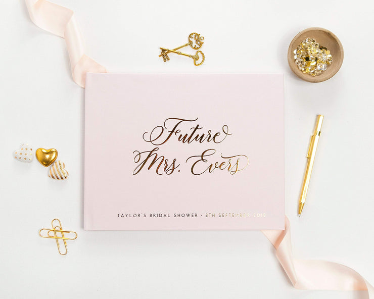 Bridal Shower Guest Book #005 by Starboard Press