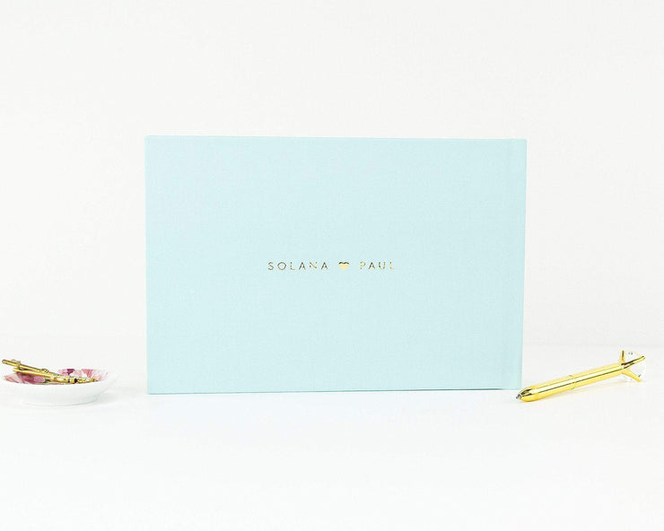 Couple Shower Guest Book #007 by Starboard Press