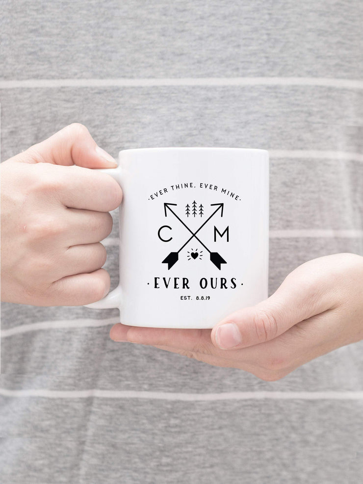 Outdoor Couple Personalized Mug, Wedding Favor #008 by Starboard Press - Starboard Press