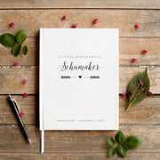 Portrait Wedding Guest Book #002   by Starboard Press